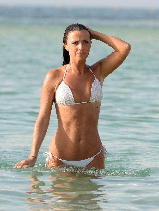 Back to post Lucy Mecklenburgh in White Bikini in Dubai