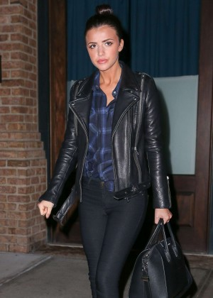 Lucy Mecklenburgh - Leaves Her Hotel in New York