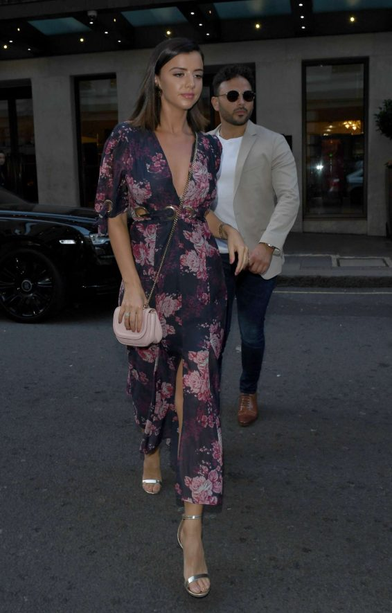 Lucy Mecklenburgh - Leaving there London Hotel