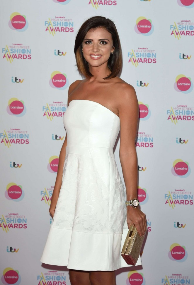 Lucy Mecklenburgh - Lorraine's High Street Fashion Awards 2015 in London