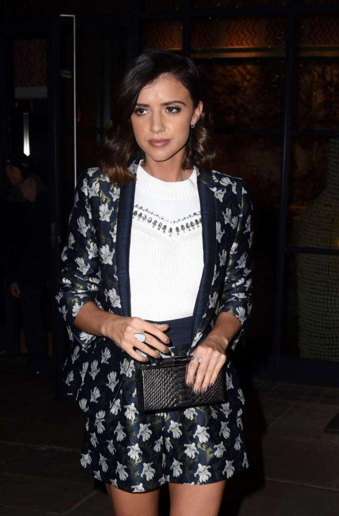 Lucy Mecklenburgh - Mariahs World TV Premiere in London