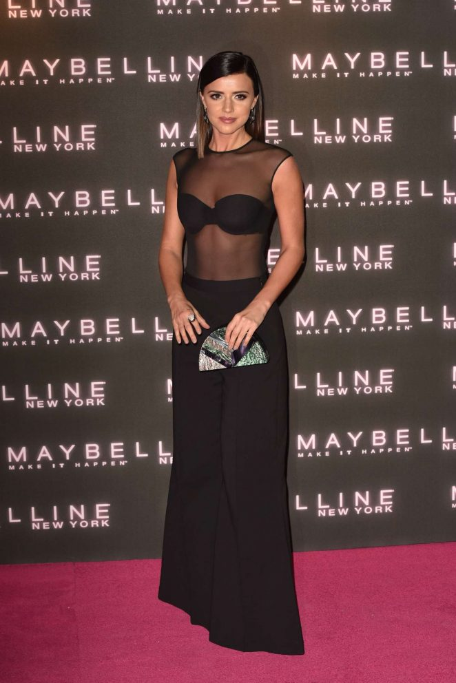 Lucy Mecklenburgh - Maybelline Bring on the Night Party 2017 in London