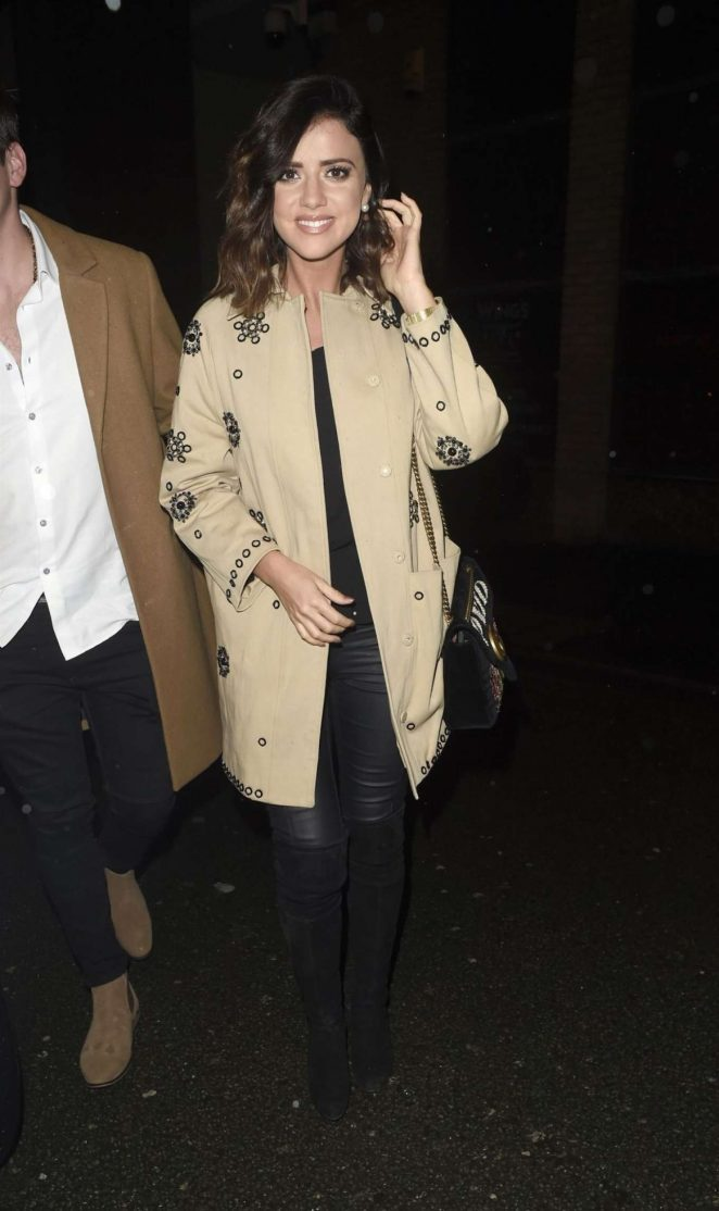Lucy Mecklenburgh - Night Out in Manchester