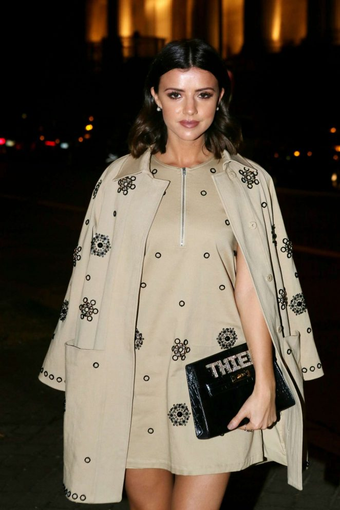 Lucy Mecklenburgh – Paul and Joe Show at 2017 PFW in Paris