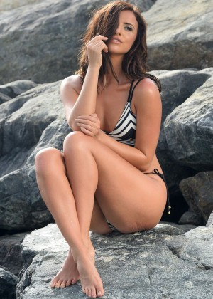 Lucy Mecklenburgh in Bikini Photoshoot in Dubai