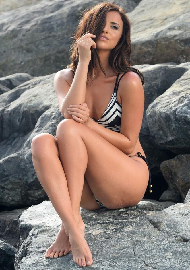 Lucy Mecklenburgh in Bikini Photoshoot in Dubai