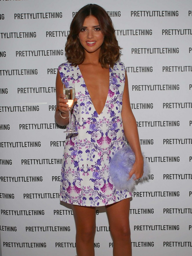 Lucy Mecklenburgh: Pretty Little Thing Clothing Launch -01