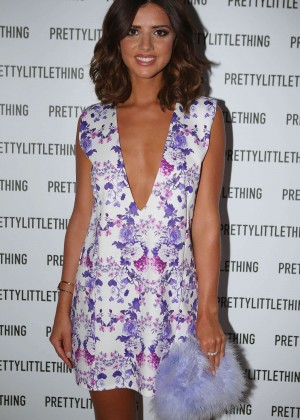 Lucy Mecklenburgh - Pretty Little Thing Clothing Launch in London