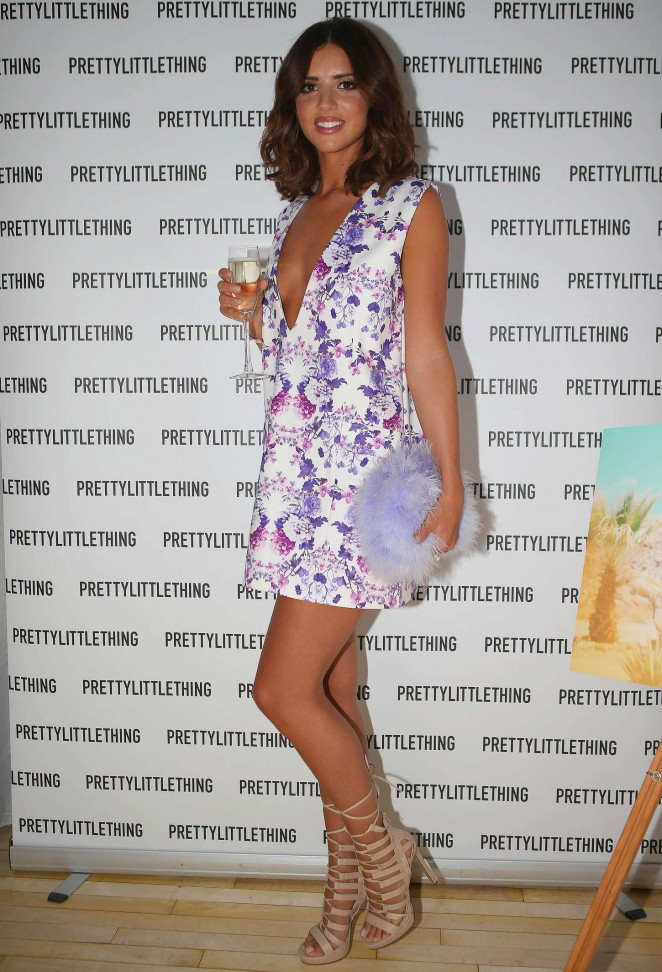 Lucy Mecklenburgh: Pretty Little Thing Clothing Launch -03