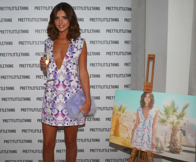 Lucy Mecklenburgh: Pretty Little Thing Clothing Launch -08