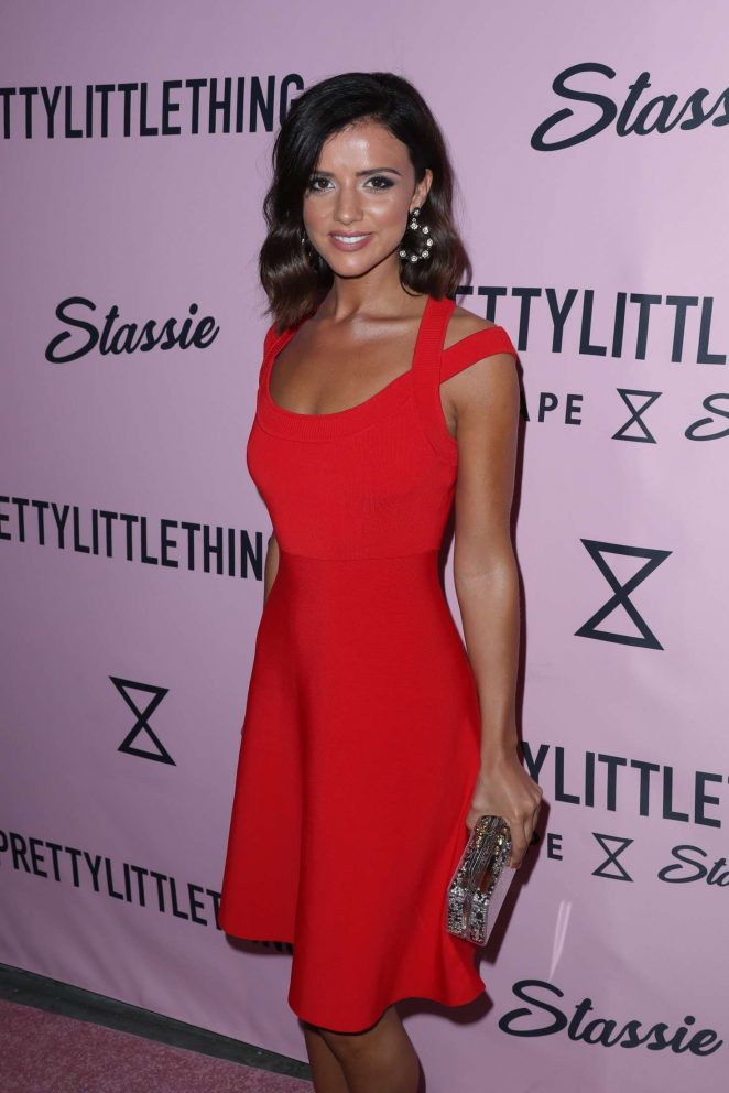 Lucy Mecklenburgh - PrettyLittleThing x Stassie Launch Party in LA