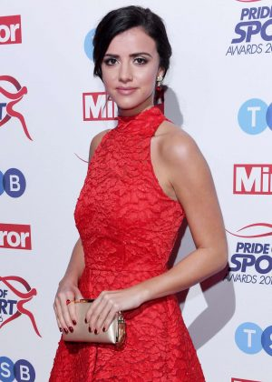 Lucy Mecklenburgh - Pride of Sports Awards 2016 in London