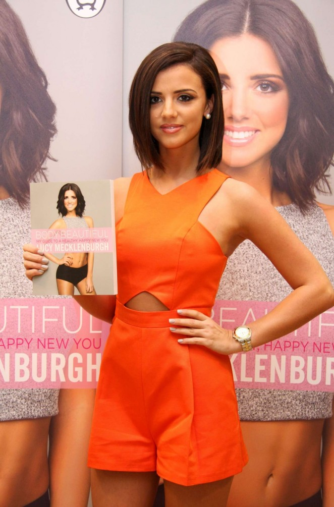 "Lucy Mecklenburgh - Promoted Her New Book ""Be Body Beautiful"" in Sheffield"