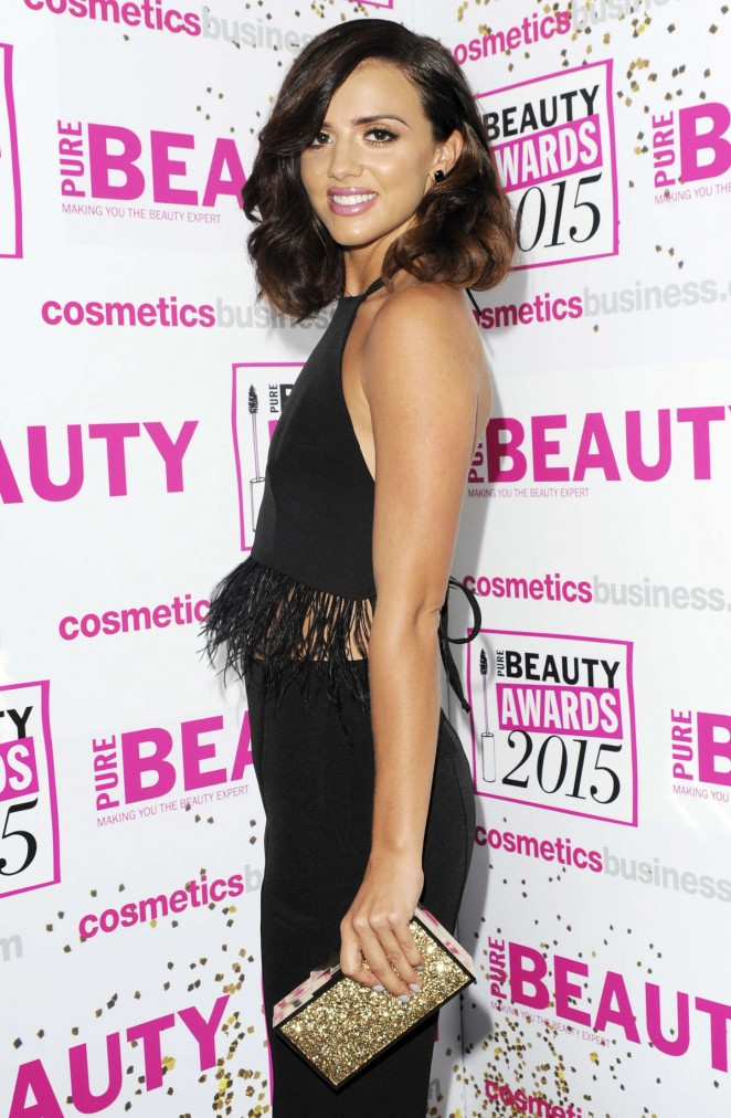 Lucy Mecklenburgh - Pure Beauty Awards 2015 in London