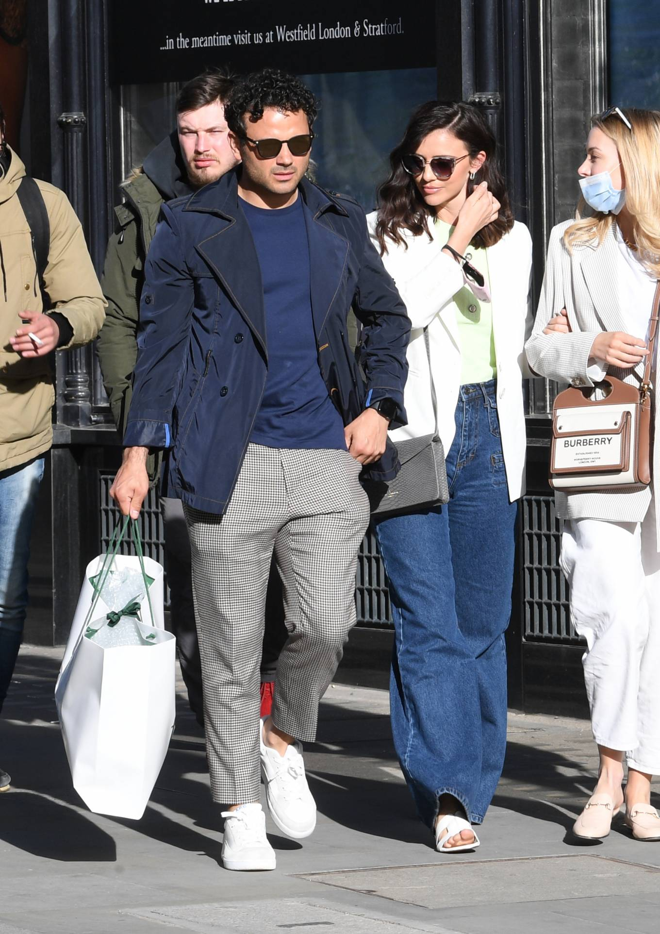 Lucy Mecklenburgh - Shopping candids in London
