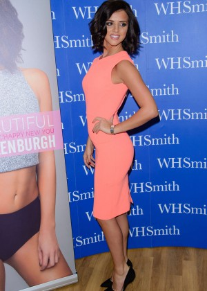 Lucy Mecklenburgh - Signs copies of her book 'Body Beautiful' in Essex