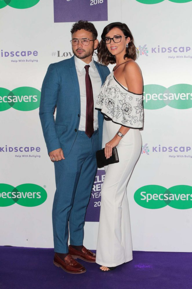 Lucy Mecklenburgh - Specsavers Spectacle Wearer Of The Year Event in London