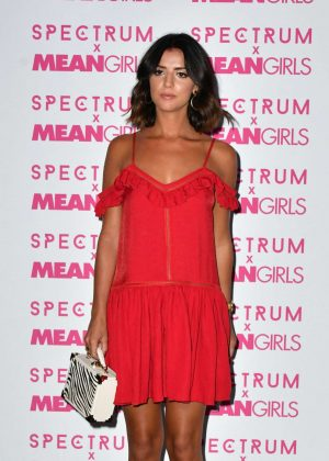 Lucy Mecklenburgh - Spectrum and Mean Girls Burn Book Launch Party in London