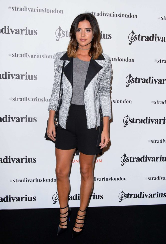 Lucy Mecklenburgh - Stradivarius Cocktail Party SS 2017 in London