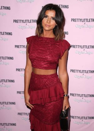 Lucy Mecklenburgh - The Prettylittlething x Olivia Culpo Launch in Hollywood