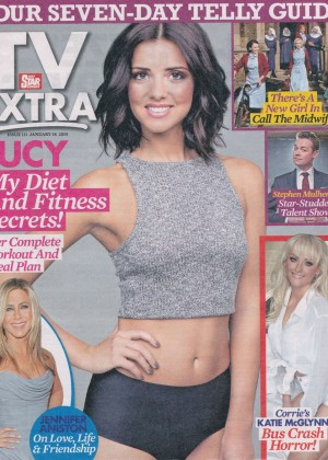 Lucy Mecklenburgh - TV Extra Magazine (January 2015)