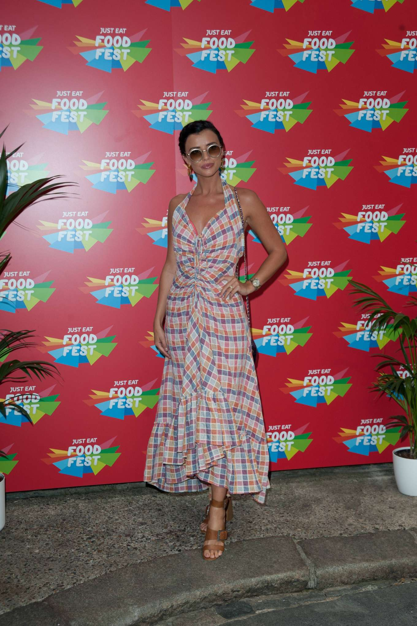 Lucy Mecklenburgh 2019 : Lucy Mecklenburgh – VIP launch of Just Eat Food Fest Taste Adventure-02