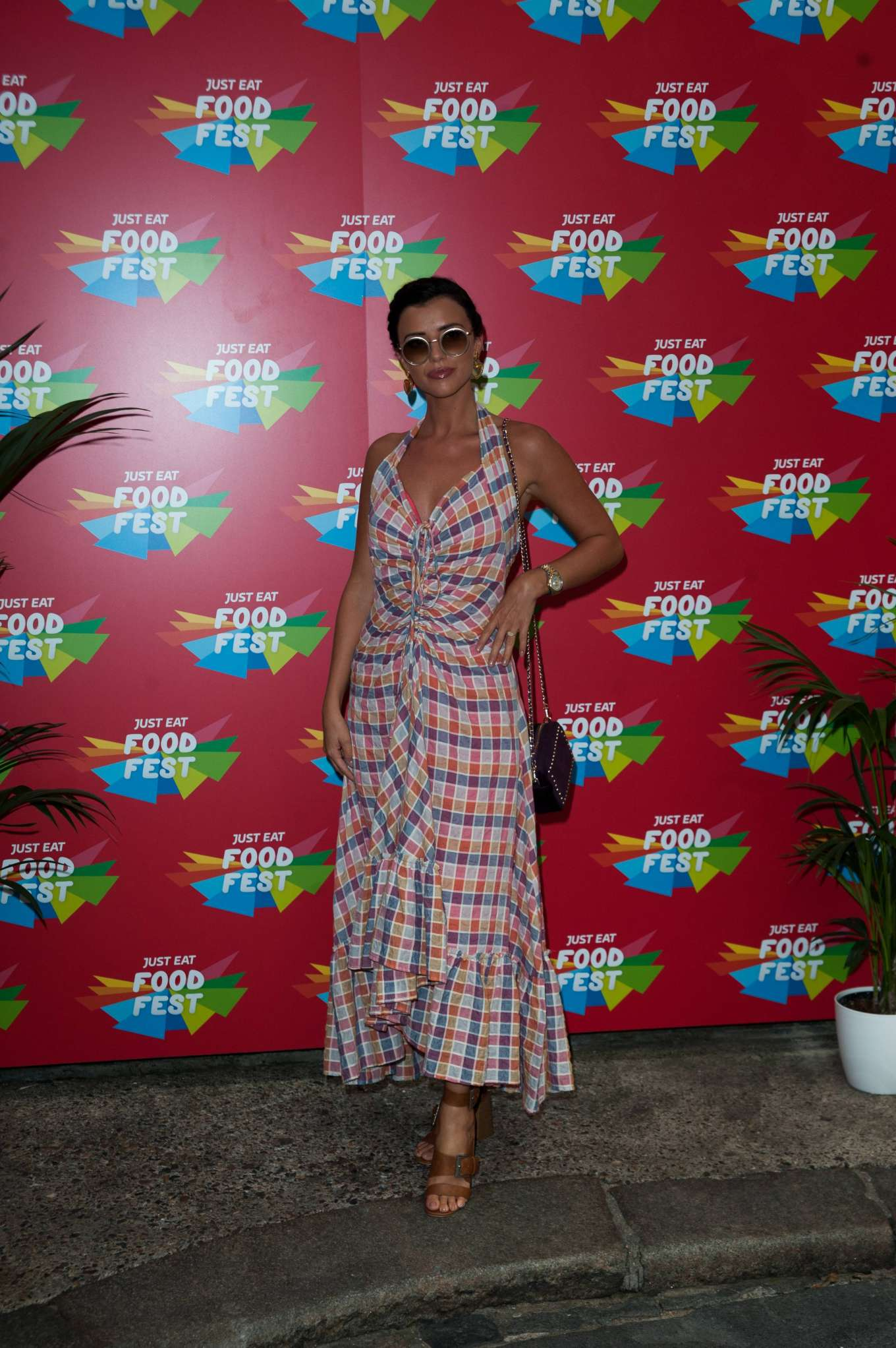 Lucy Mecklenburgh 2019 : Lucy Mecklenburgh – VIP launch of Just Eat Food Fest Taste Adventure-04