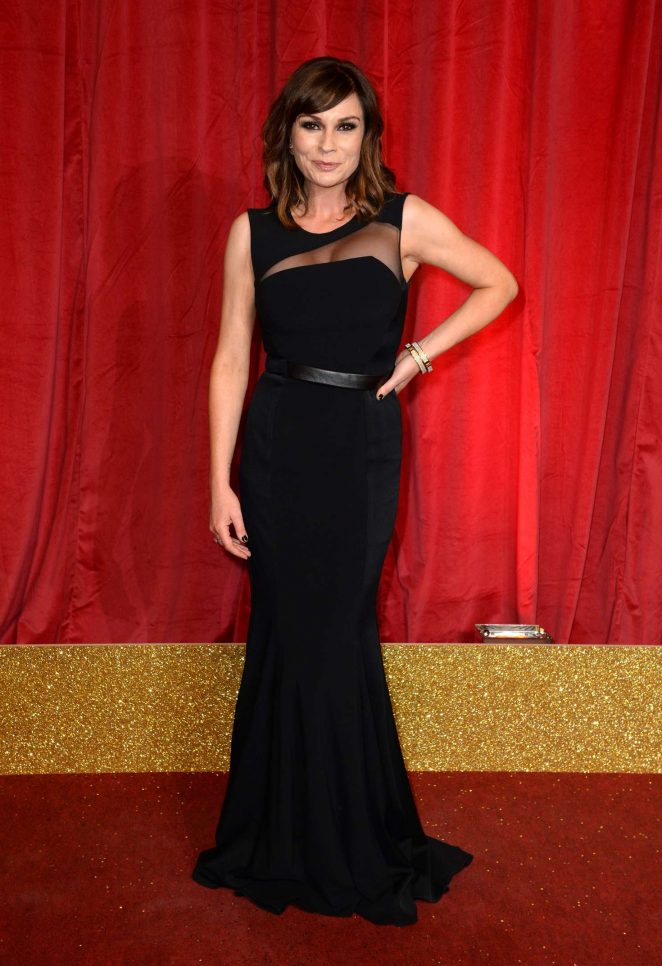 Lucy Pargeter - British Soap Awards 2016 in London