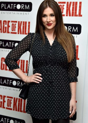"Lucy Pinder - ""Age Of Kill"" Premiere in London"