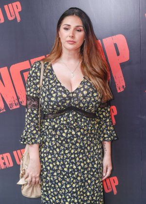 Lucy Pinder - 'Fanged Up' Premiere in London
