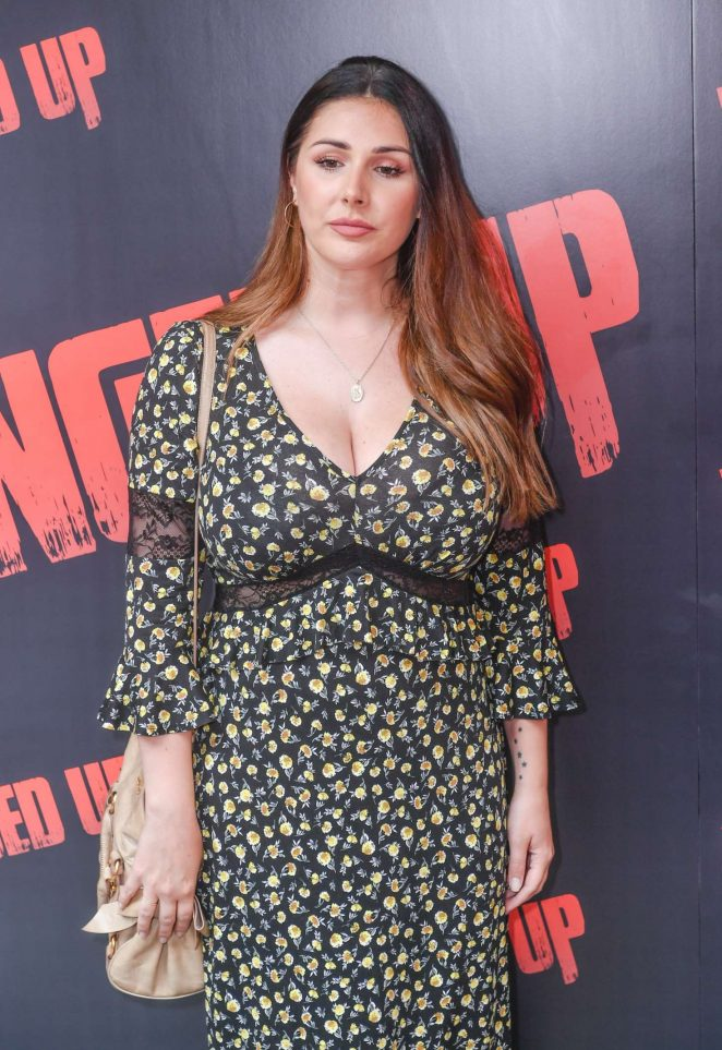 Lucy Pinder – 'Fanged Up' Premiere in London