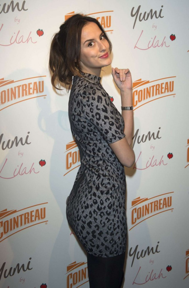 Lucy Watson - Cointreau Launch Party for Yumi By Lilah 2016 Collection in London