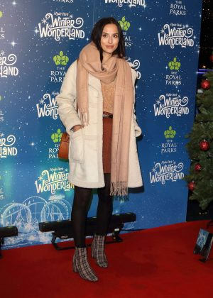 Lucy Watson - Hyde Park Winter Wonderland VIP Launch in London
