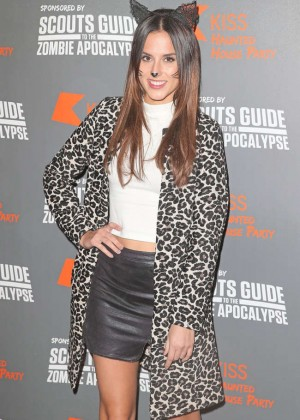 Lucy Watson - KISS FM Haunted House Party in London