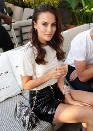 Lucy Watson - Madison Summer Party in London