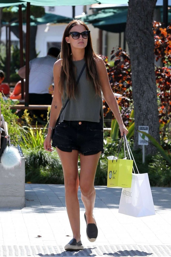 Lucy Watson in Shorts -08