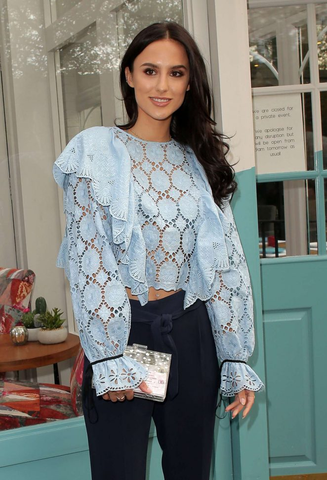Lucy Watson - Tell Your Friends Restaurant Launch in London