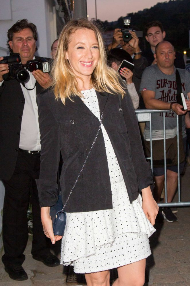 Ludivine Sagnier Arriving at Chanel dinner in Cannes