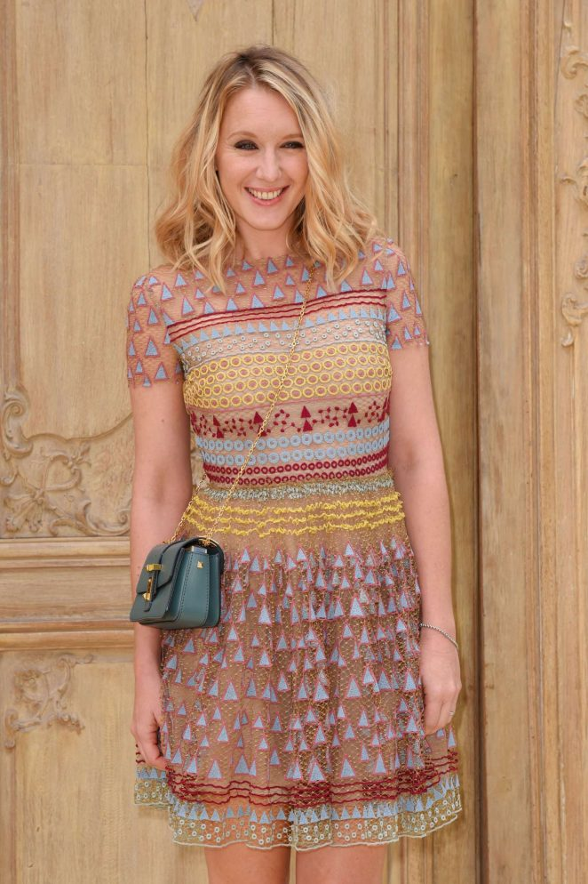 Ludivine Sagnier - Valentino Fashion Show SS17 in Paris