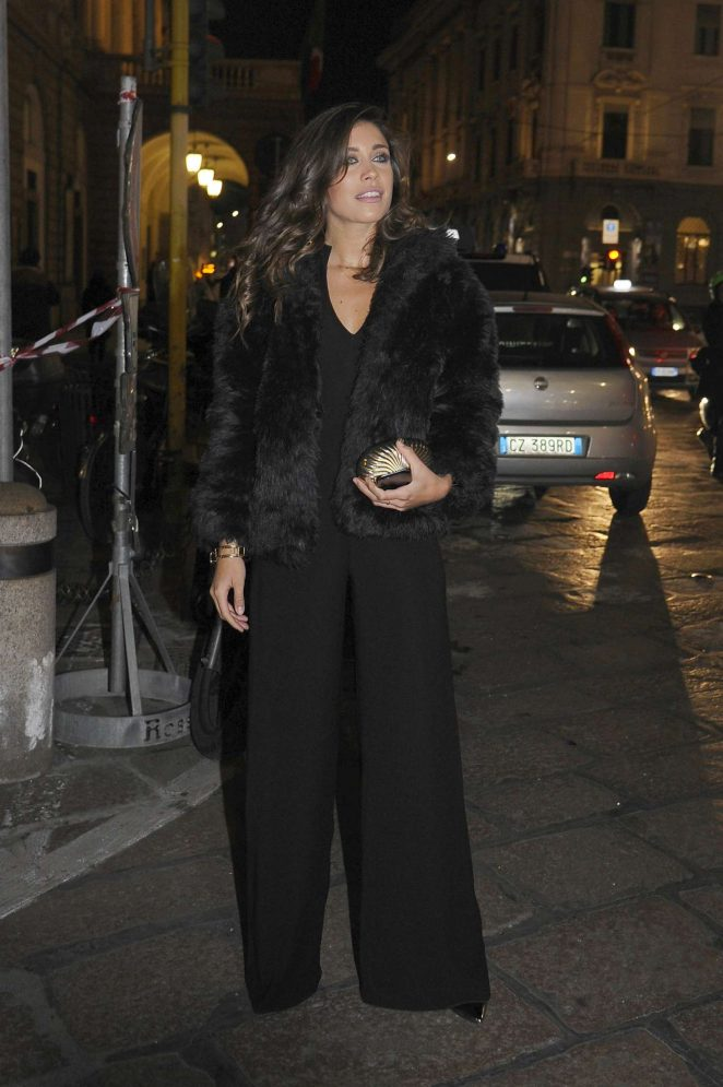Ludovica Frasca - Michelle Hunziker Birthday Party in Milan