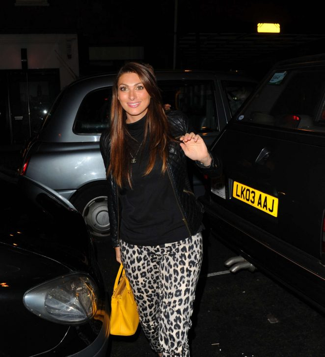 Luisa Zissman – Arrives at Novikov Restaurant in London