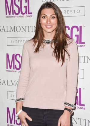 Luisa Zissman - MediaSkin Gifting Lounge in London
