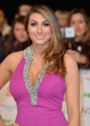 Luisa Zissman - National Television Awards 2016 in London