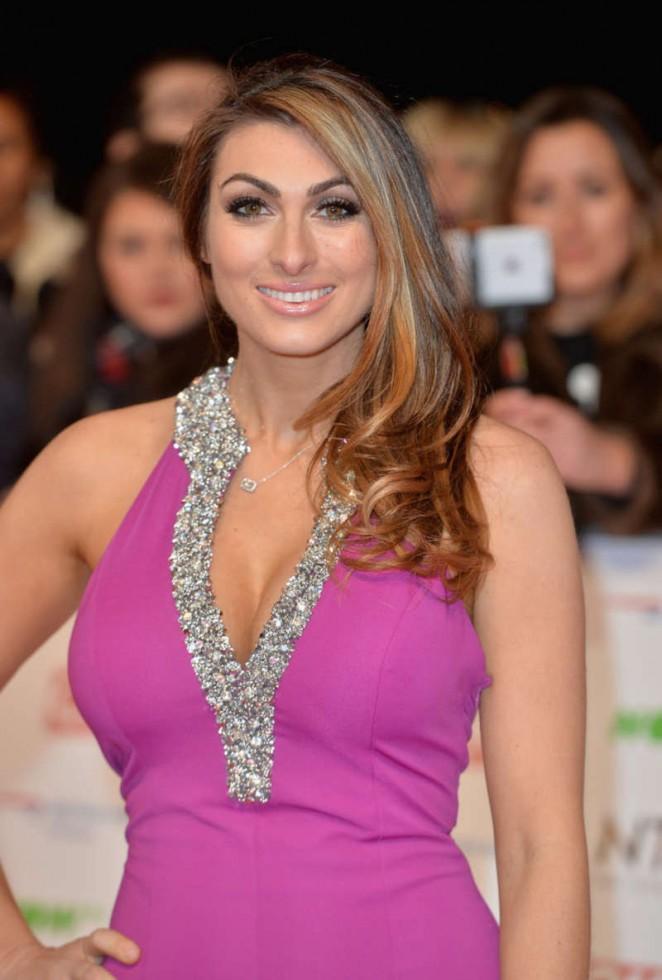 Luisa Zissman - National Television Awards 2016 in London