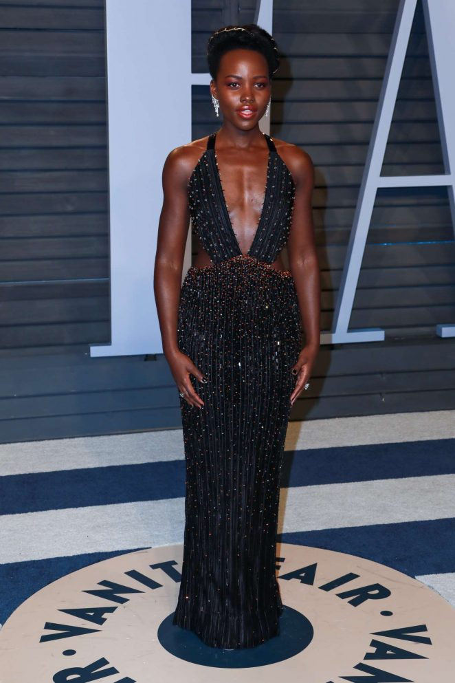 Lupita Nyong'o - 2018 Vanity Fair Oscar Party in Hollywood