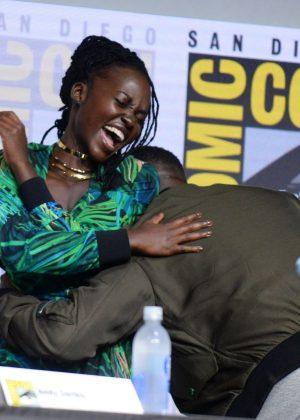 Lupita Nyong'o - Black Panther Panel at 2017 Comic-Con in San Diego