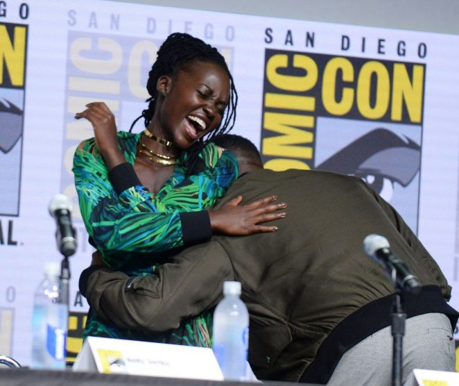 Lupita Nyong'o – Black Panther Panel at 2017 Comic-Con in San Diego