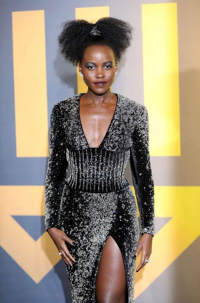 Lupita Nyong'o - 'Black Panther' Premiere in London