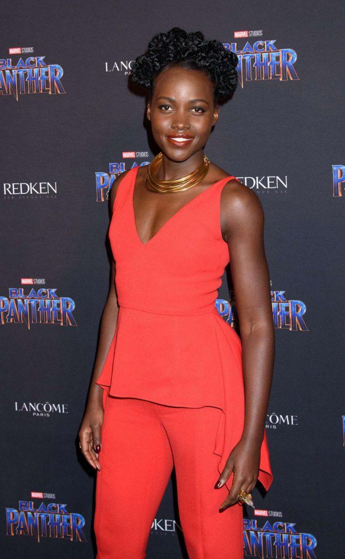 Lupita Nyong'o - 'Black Panther' Welcome to Wakanda NYFW Showcase in New York