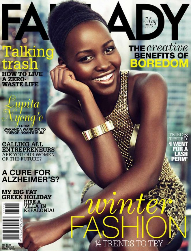 Lupita Nyong'o – Fairlady Magazine (May 2018)